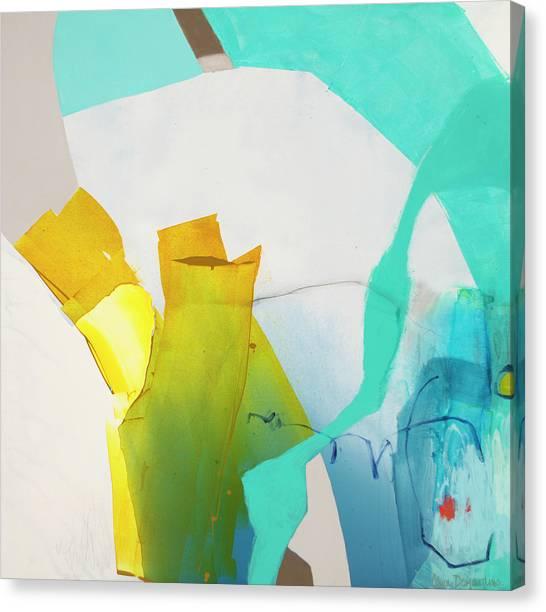 Canvas Print - Talking To Myself by Claire Desjardins