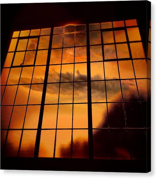 Tall Windows #2 Canvas Print by Maxim Tzinman
