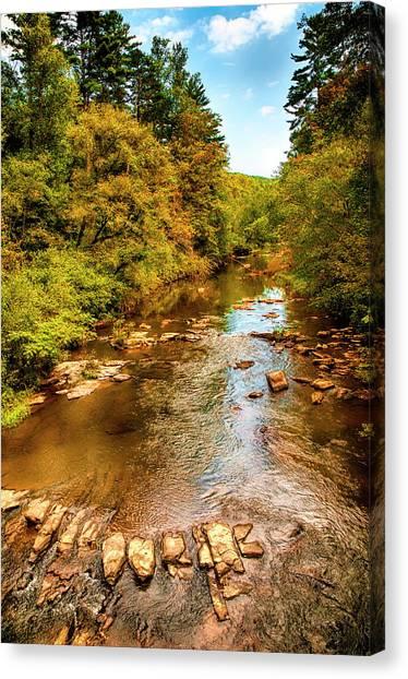 Tallulah River Canvas Print