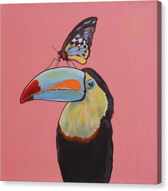 Talula The Toucan Canvas Print