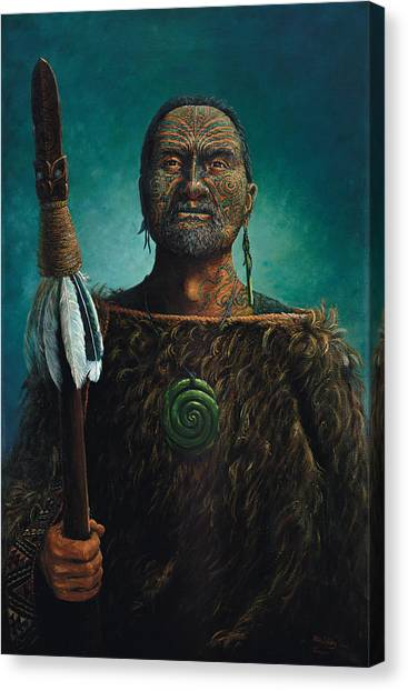 Canvas Print - Tamaki by Peter Jean Caley