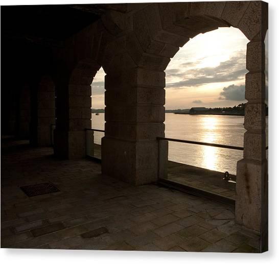 Tamar Estuary Sunset Canvas Print