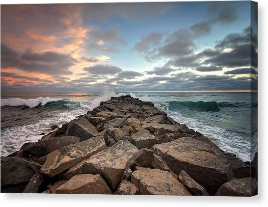 Canvas Print - Tamarack Jetty by Ann Patterson