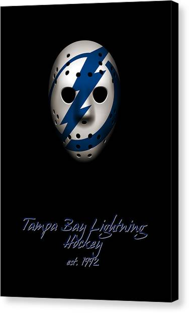 Tampa Bay Lightning Canvas Print - Tampa Bay Lightning Established by Joe Hamilton