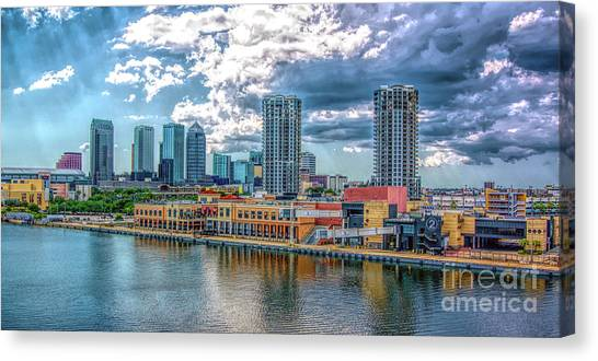Tampa Florida Skyline Canvas Print
