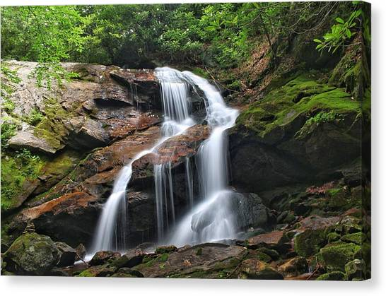 Upper Dill Falls Canvas Print