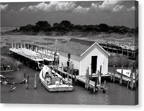 Tangier Island 2 Canvas Print by Alan Hausenflock