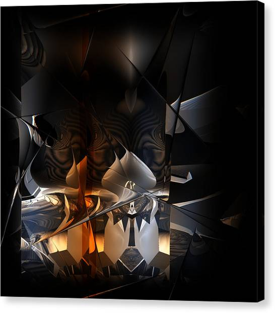 Canvas Print featuring the digital art Tangier by Vadim Epstein