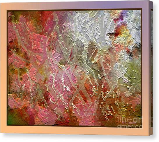 Canvas Print featuring the photograph Tangled Branches II by Dee Flouton