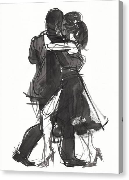 Tango 2 Canvas Print