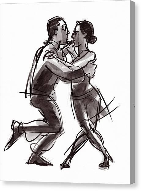 Tango #22 Canvas Print