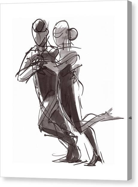 Tango #24 Canvas Print