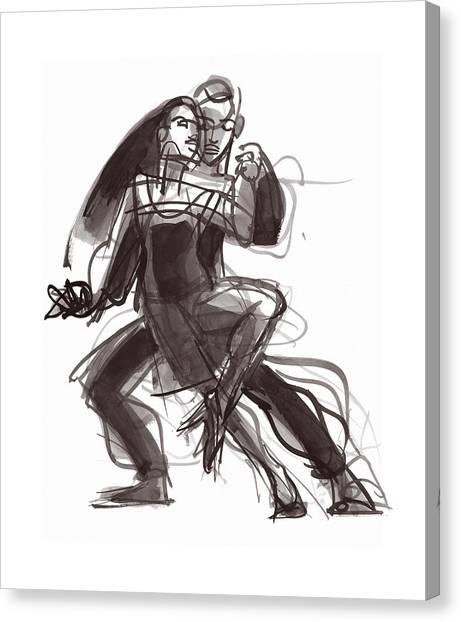 Tango #35 Canvas Print