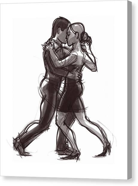 Tango #51 Canvas Print