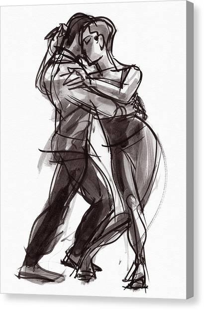 Tango #9 Canvas Print