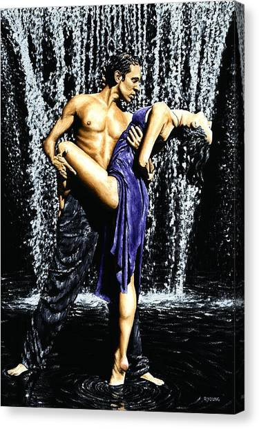 Tango Canvas Print - Tango Cascade by Richard Young
