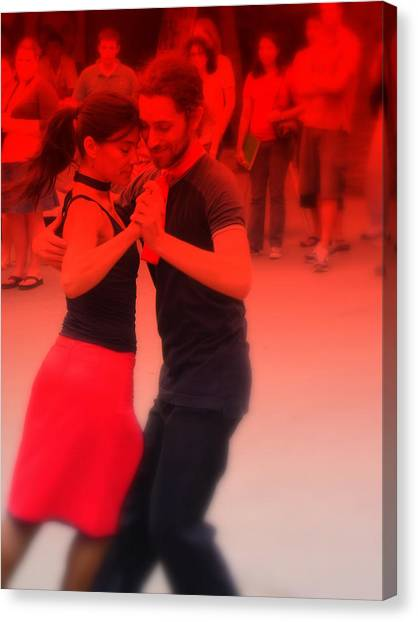 Tango Catalan Canvas Print