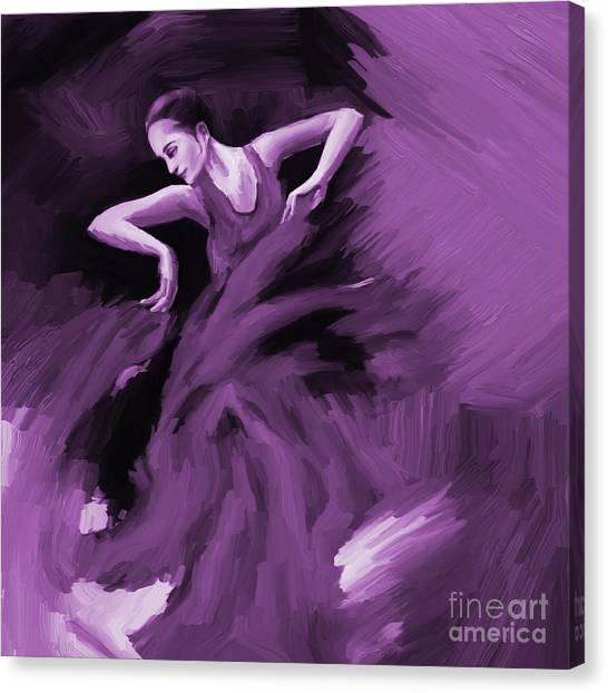 Tango Dancer 01 Canvas Print