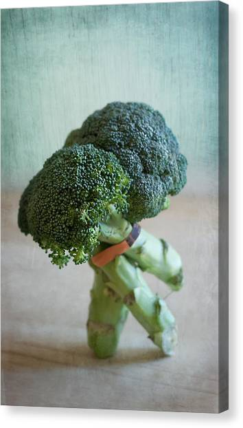 Broccoli Canvas Print - Tango Dip by Maggie Terlecki