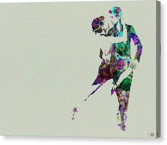 Costume Canvas Print - Tango by Naxart Studio