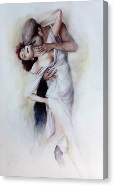 Tango Quartet 2/4 Canvas Print