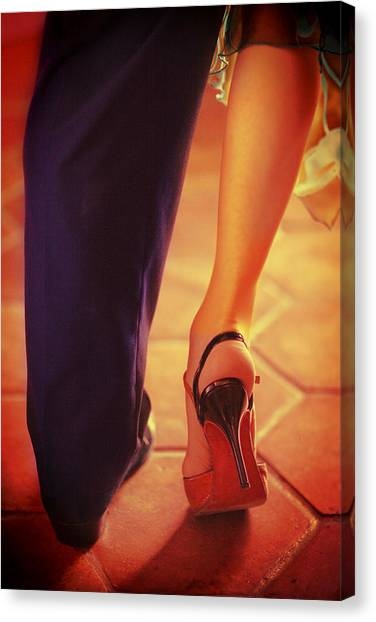 Tango Together Canvas Print