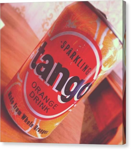 Tango Canvas Print - #tango  #vintage  Old Skool Tango Found by Leigh Geoghegan