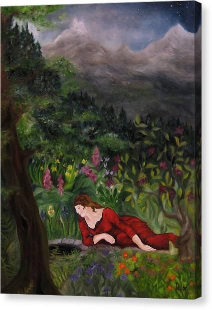 Tansel Of Loralin Canvas Print