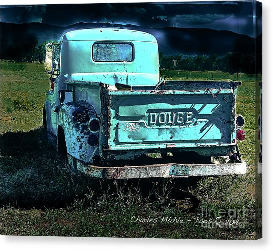 Taos Dodge Canvas Print