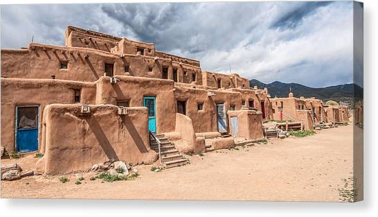Taos Pueblo New Mexico Canvas Print