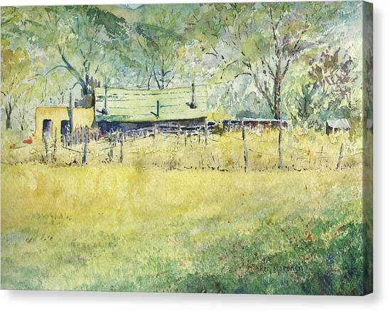 Taos Ranch Canvas Print