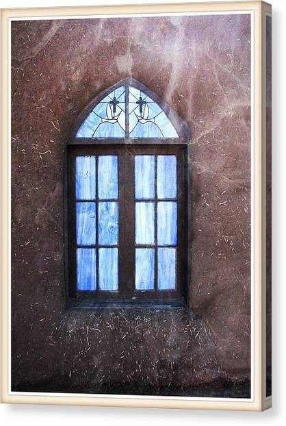 Taos, There's Something In The Light 4 Canvas Print