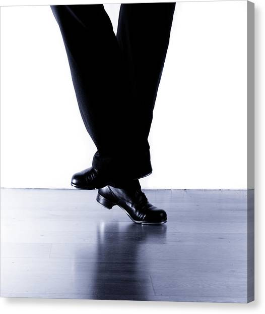 Tap Dance Canvas Print - Tap Dance 2 by Scott Sawyer