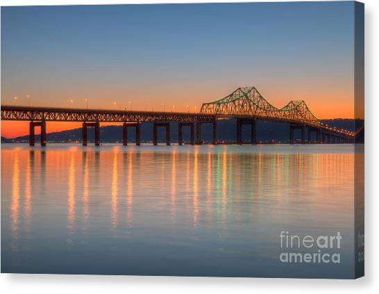 Tappan Zee Bridge After Sunset II Canvas Print