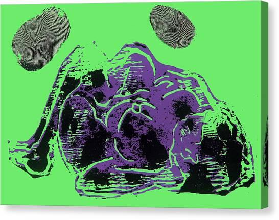 Tarbaby 3 Canvas Print by Adam Kissel