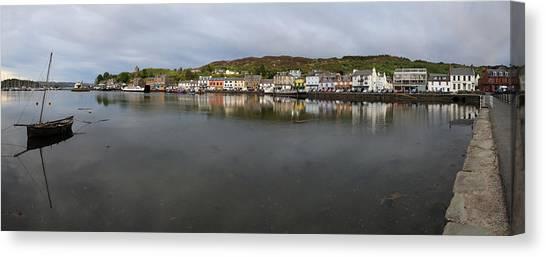 Tarbert Harbour - Panorama Canvas Print