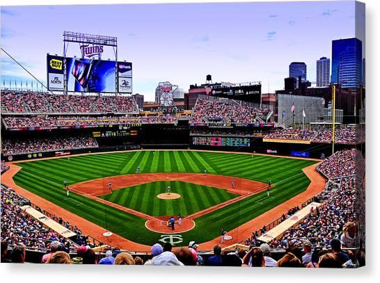 Minnesota Twins Canvas Print - Target Field by Lyle  Huisken