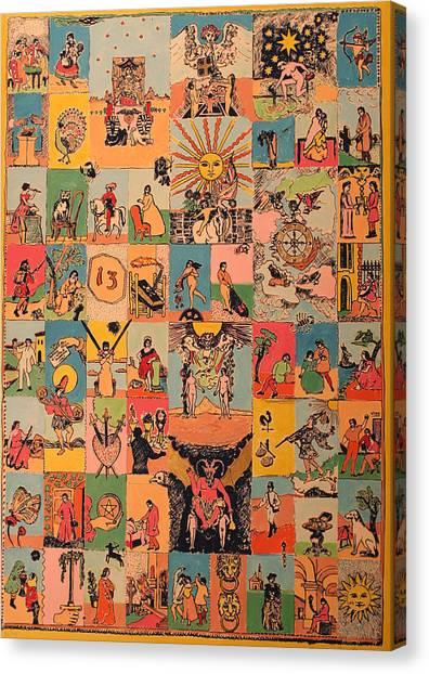 Tarocchi Canvas Print by Biagio Civale