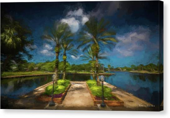Bayous Canvas Print - Tarpon Bayou by Marvin Spates