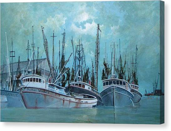 Tarpon Springs Canvas Print