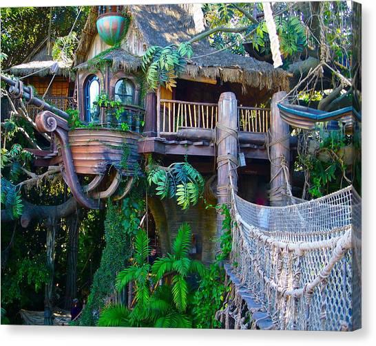 Tarzan Treehouse Canvas Print