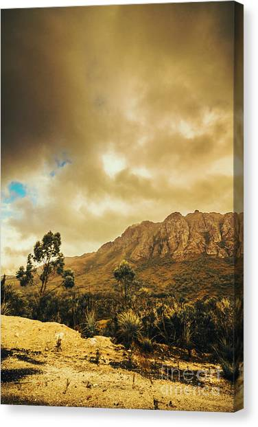 Natural Landscapes Canvas Print - Tasmania Mountain Marvels by Jorgo Photography - Wall Art Gallery