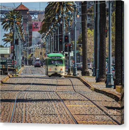 Stoplights Canvas Print - Tastes Like Far Away by Mitch Shindelbower
