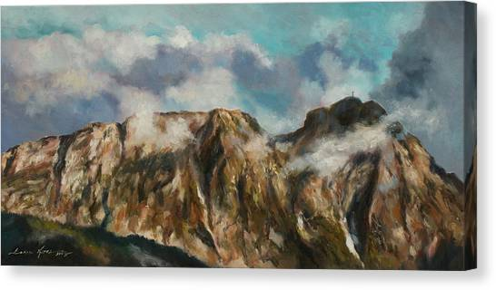 Tatry Mountains- Giewont Canvas Print