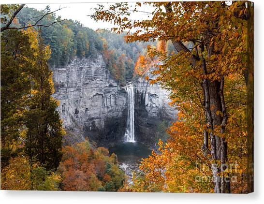 Taughannock Autumn Canvas Print