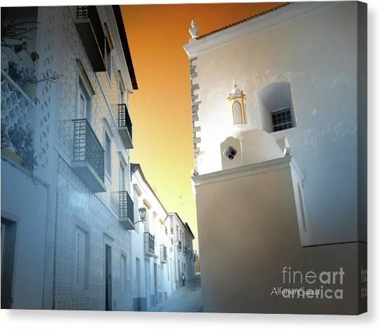 Tavira Canvas Print by Alfonso Garcia