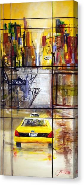 Taxi 7 Canvas Print
