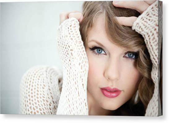 Taylor Swift Canvas Print - Taylor Swift 2012 by Emma Brown