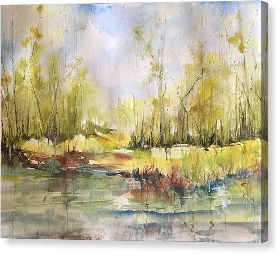 Tchefuncte River Series Canvas Print
