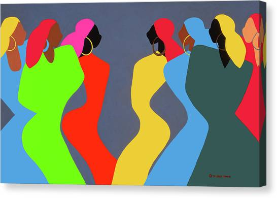 Canvas Print - Tchokola by Synthia SAINT JAMES